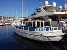 Medelhavs- Caiquefartyg Arkivbild