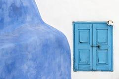Medelhavs- fönster Fotografering för Bildbyråer
