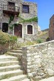 medelhavs- gammalt för hus Arkivbilder