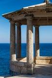 Medelhavs- gazebo Royaltyfri Foto