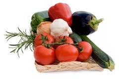 medelhavs- grönsaker Arkivfoton