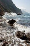 medelhavs- hav för kust Royaltyfri Bild