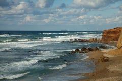 medelhavs- hav för kust Royaltyfri Foto