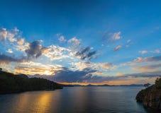 medelhavs- hav för strand Fethiye Turkiet Arkivfoton