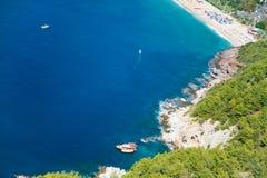 Medelhavs- hav i Turkiet Royaltyfri Fotografi