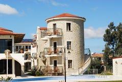 Medelhavs- hotell Arkivbild