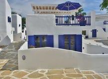 Medelhavs- hus fotografering för bildbyråer