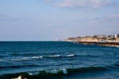 medelhavs- kust Royaltyfria Bilder