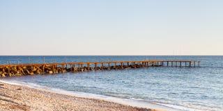 Medelhavs- landningetapp Royaltyfri Fotografi