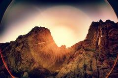 Medelhavs- landskap Royaltyfria Bilder