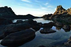 Medelhavs- landskap Royaltyfri Bild