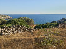 Medelhavs- landskap Arkivbild