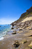 Medelhavs- liten vik Royaltyfri Bild