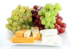 medelhavs- platta för ost arkivfoto