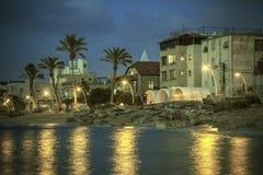 Medelhavs- promenad Fotografering för Bildbyråer