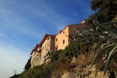 Medelhavs- Rab town Arkivfoton