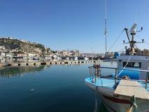 Medelhavs- sikt Arkivfoto