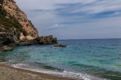 Medelhavs- sikt Royaltyfria Bilder