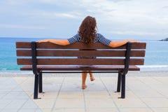 Medelhavs- sikt Royaltyfri Fotografi