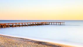 Medelhavs- skymning Royaltyfri Bild