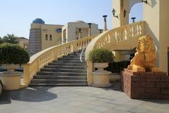 Medelhavs- stilbyggnad Royaltyfri Bild