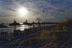 medelhavs- strand Fotografering för Bildbyråer