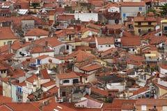 medelhavs- town Arkivbild