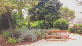 Medelhavs- trädgård Arkivbild