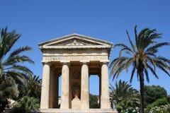 Medelhavs- trädgård, Malta Arkivfoton