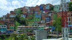 MedellÃn Colombia, comuna 13, América latina de la visión almacen de metraje de vídeo