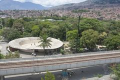 Medellin, Colombia - April 20, 2015 Botanical -Garden royalty free stock image