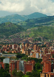 Medellin. The second biggest city in Colombia, which is the capital of the Department of Antioquia Royalty Free Stock Photography