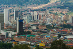 Medellin. The city center of Medellin, the second biggest city in Colombia, which is the capital of the Department of Antioquia Royalty Free Stock Images