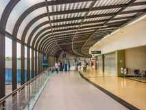 Medellin Airport Interior View Stock Photo