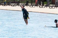 Medellin, Antioquia/Colombia; 23 maggio 2019: parco ricreativo dell'acqua; Juan Pablo Second immagini stock