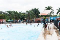 Medellin, Antioquia/Colombia; 23 maggio 2019: parco ricreativo dell'acqua; Juan Pablo Second fotografie stock libere da diritti