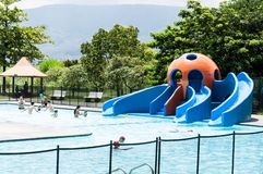 Medellin, Antioquia/Colombia; 23 mei, 2019: recreatief waterpark; Juan Pablo Second stock fotografie