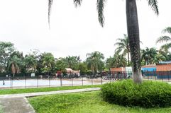 Medellin, Antioquia/Colombia; 23 mei, 2019: recreatief waterpark; Juan Pablo Second stock afbeelding