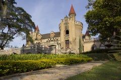 Medellin, Antioquia, Kolumbia - Muzealny El Castillo Fotografia Stock