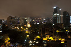 Free Medellin At Night With Residential Buildings. Colombia 2017. Stock Photo - 90077250