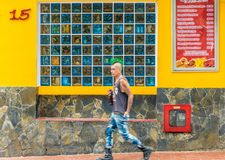 Typical Medellin Colombia royalty free stock images