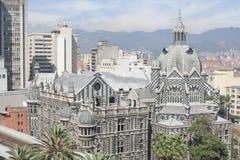 Medellin, Colombia 28 Juli, 2015 Paleis van cultuur, het grote architecturale werk Royalty-vrije Stock Afbeelding