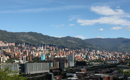 Medellin Colombia. Landscape panorama Stock Photos