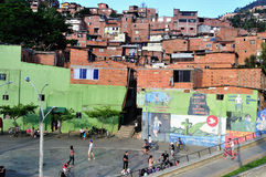 Medellin - Colombia. Santo Domingo district in MEDELLIN .Department of Antioquia. COLOMBIA royalty free stock photography