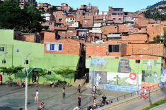 Medellin - Colombia. Santo Domingo district in MEDELLIN .Department of Antioquia. COLOMBIA stock images
