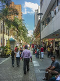 Medellin Day Urban Scene Stock Images