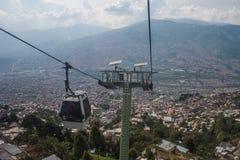 Medellin kabelbil Arkivbild