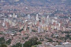 Medellin, Kolumbien - 5. September 2012 Ansicht der Stadt Medellin ist die zweitgrösste Stadt in Kolumbien mit einer Bevölkerung  Lizenzfreie Stockfotos