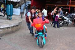 Medellin - la Colombie Images libres de droits