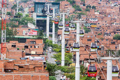 Free Medellin Metro Cable Cars Stock Photos - 39446233